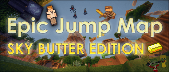 Minecraft Epic Jump Map Butter Edition