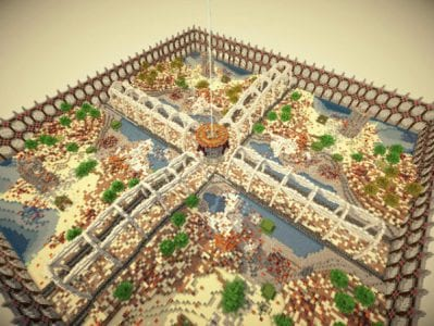 Minecraft The Walls: Doomsday Survival Map
