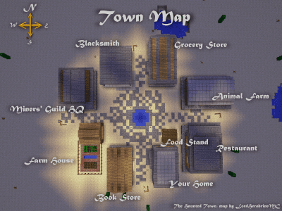 Survival The Haunted Town
