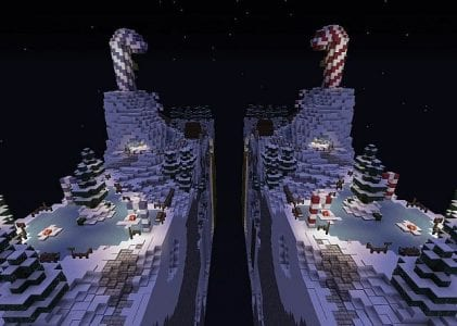 Christmas Race for The Wool