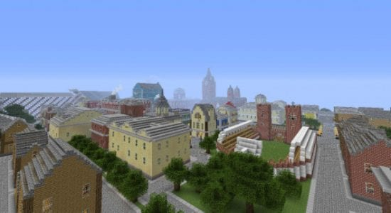 Mineton City Map - Minecraft Maps