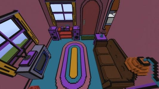 The Simpsons House Minecraft Maps