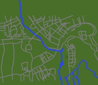 St. Catharines city river map