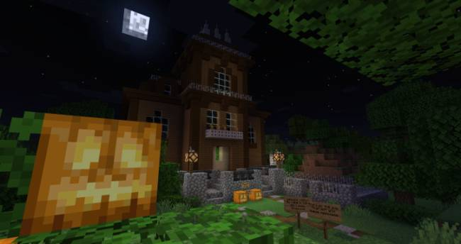 Spooky Halloween Special house