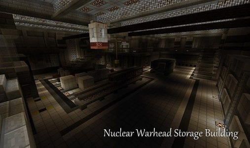 Minecraft Metal Gear Solid Shadow Moses Map